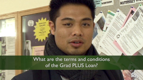 What are the Terms and Conditions of the Grad PLUS loan?