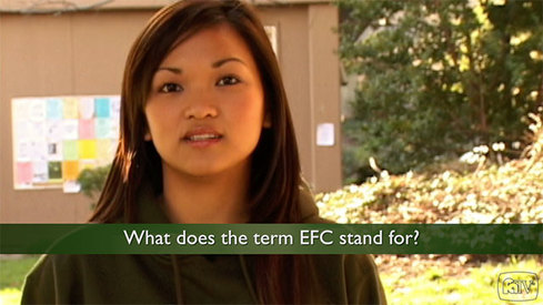 What does the term EFC stand for?