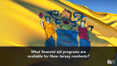 What financial aid programs are available for NJ residents?