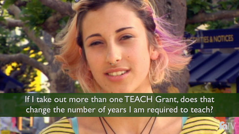 If I take out more than one TEACH Grant, does that change the number of years that I am required to teach?