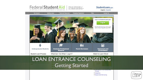 Loan Entrance Counseling - Getting Started
