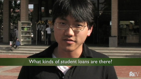 What kinds of student loans are there?
