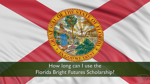 How long can I use the Florida Bright Futures Scholarship?