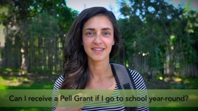 Thumbnail of Can I receive a Pell Grant if I go to school year-round?