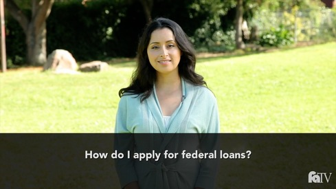 How do I apply for federal loans?