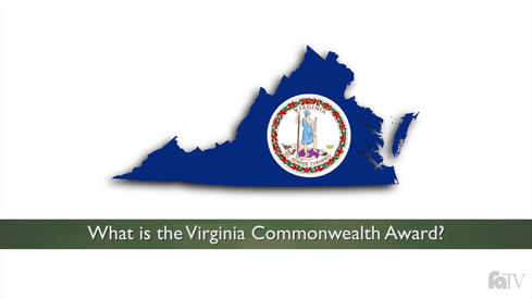 What is the Virginia Commonwealth Award?