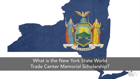 What is the New York State World Trade Center Memorial Scholarship?