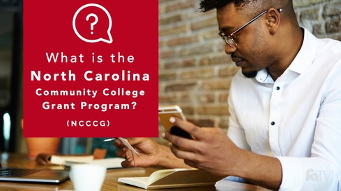 What is the North Carolina Community College Grant Program (NCCCG)?