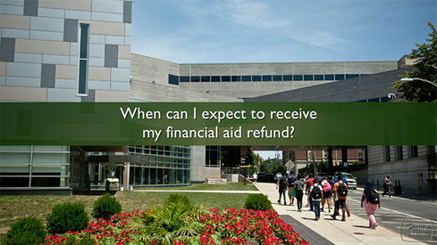 When can I expect to receive my financial aid refund?