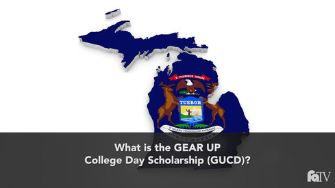 What is the GEAR UP College Day Scholarship (GUCD)?