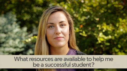 What resources are available to help me be a successful student?