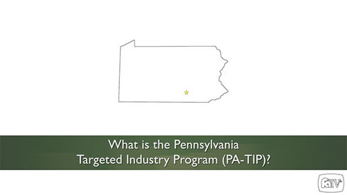 What is the Pennsylvania Targeted Industry Program (PA-TIP)?