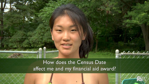 How does the Census Date affect me and my financial aid award?
