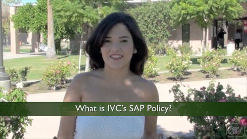 What is IVC's SAP Policy?