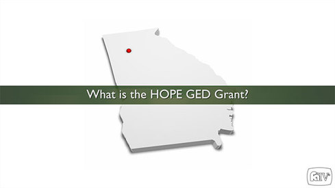 What is the HOPE GED Grant?