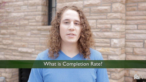 What is Completion Rate?