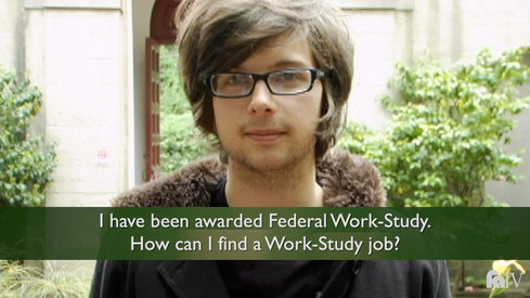 I have been awarded Federal Work-Study. How do I find a Work-Study job?