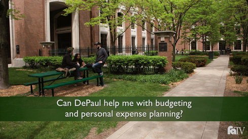 Can DePaul help me with budgeting and personal expense planning?