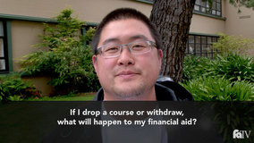 Thumbnail of If I drop a course or withdraw, what will happen to my financial aid?