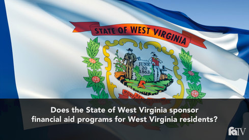 Does the state of West Virginia sponsor financial aid programs for West Virginia residents?