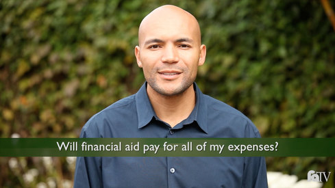Will financial aid pay for all of my expenses?
