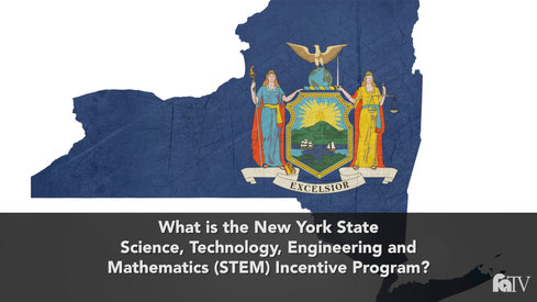 What is the New York State Science, Technology, Engineering and Mathematics (STEM) Incentive Program?