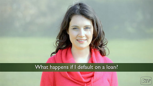 What happens if I default on a loan?