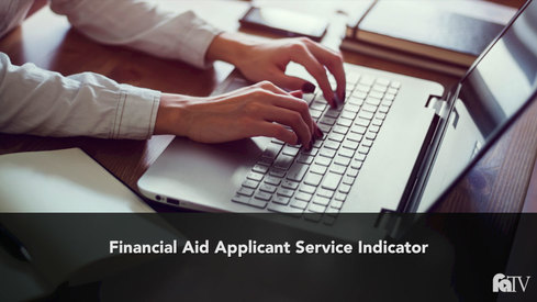 Financial Aid Applicant Service Indicator