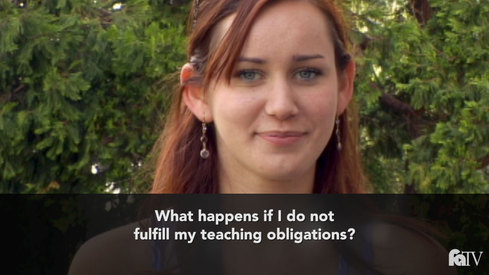 What happens if I do not fulfill my teaching obligation?