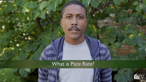 What is Pace Rate?