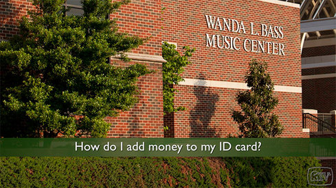 How do I add money to my ID card?