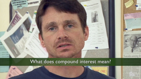 What does compound interest mean?