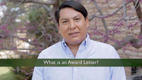 What is an Award Letter?