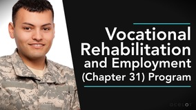 Thumbnail of Vocational Rehabilitation and Employment (Chapter 31) Program