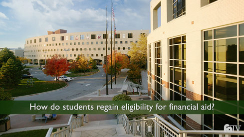 How do students regain eligibility for financial aid?