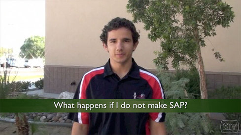 What happens if I do not make SAP?