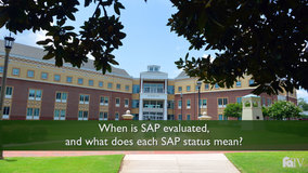 Thumbnail of When is SAP evaluated and what does each SAP status mean?