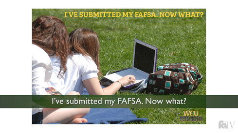I've submitted my FAFSA—now what?