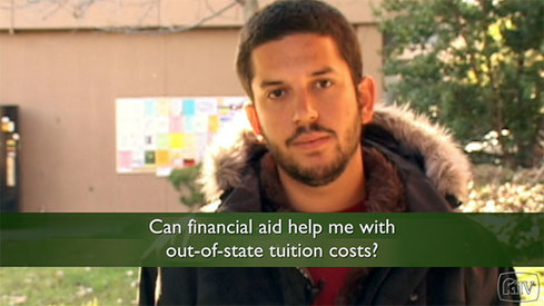 Can financial aid help me with out-of-state tuition costs?