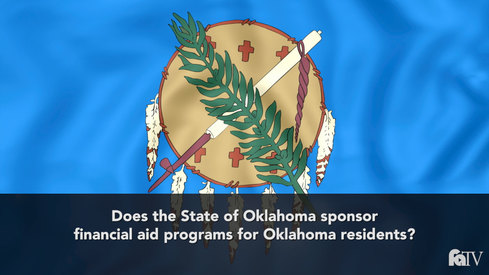Does the state of Oklahoma sponsor financial aid programs for Oklahoma residents?