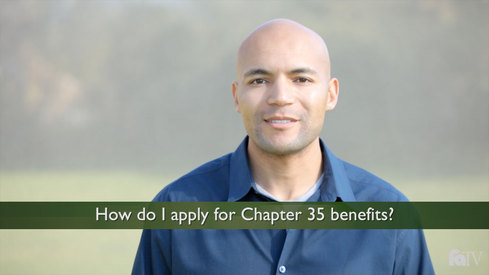 How do I apply for Chapter 35 benefits?