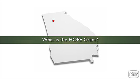 What is the HOPE Grant?