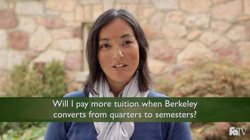 Will I pay more tuition when Berkeley converts from quarters to semesters?