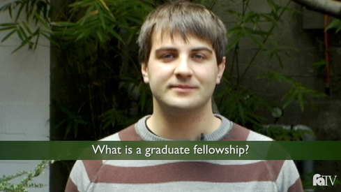 What is a graduate fellowship?