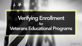 Thumbnail of Verifying Enrollment for Veterans Educational Programs