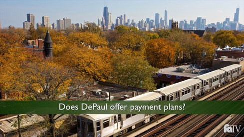 Does DePaul offer payment plans?