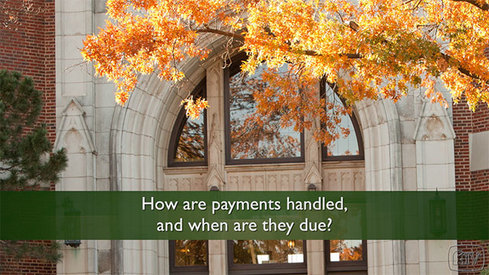 How are payments handled and when are they due?