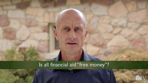 Is all financial aid 'free money'?