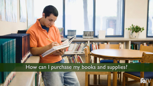 How can I purchase my books and supplies?