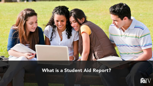 What is a Student Aid Report?